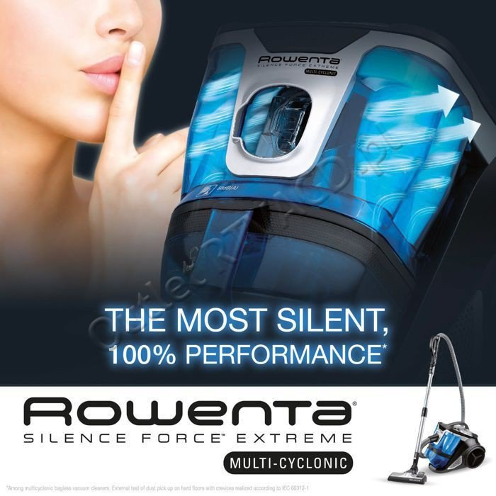 rowenta silence force extreme multicyclonic bagless vacuum. Black Bedroom Furniture Sets. Home Design Ideas
